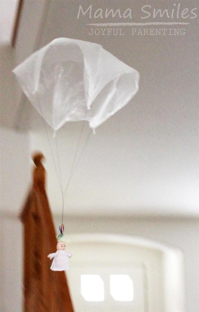 juguetes con bolsas de plástico