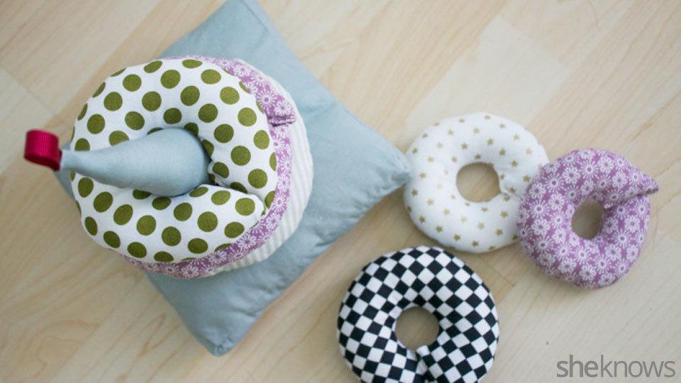 juguetes hechos con tela