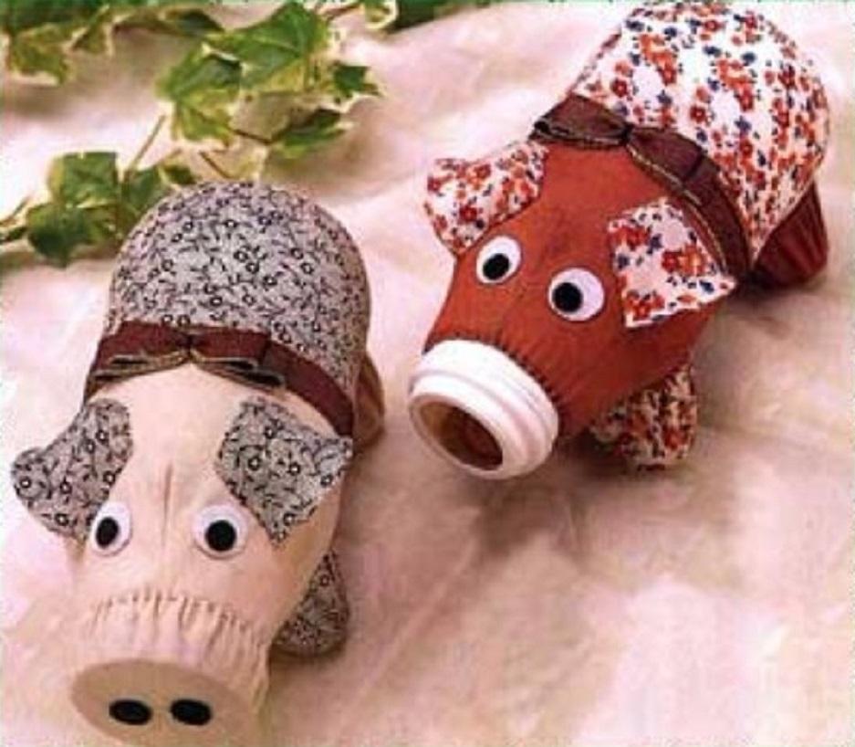 juguetes hechos de tela