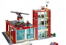 juguetes lego estación de bomberos