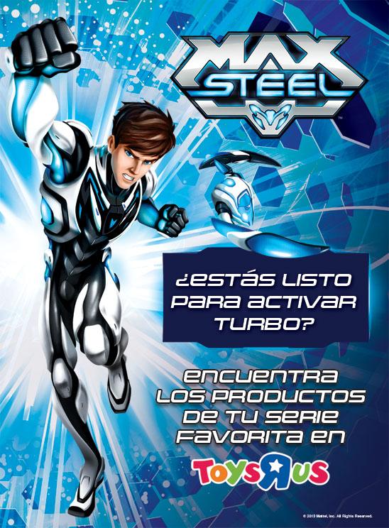 juguetes max steel