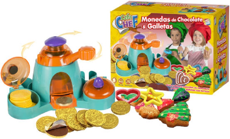 juguetes para hacer chocolate