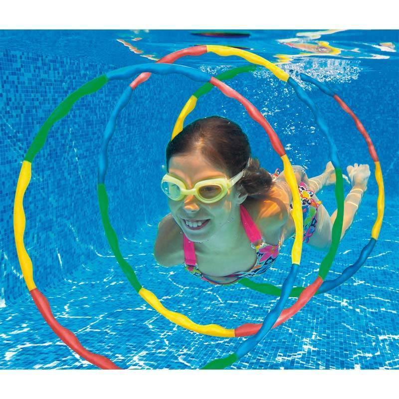 juguetes para la piscina