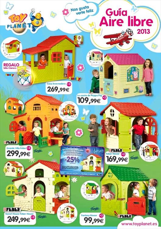 Casitas y juegos de toy planet juguetes for Casa jardin ninos