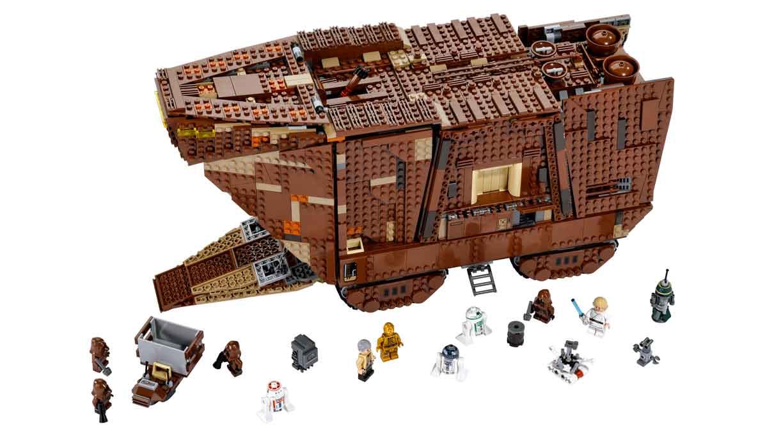 Diferentes modelos de Lego