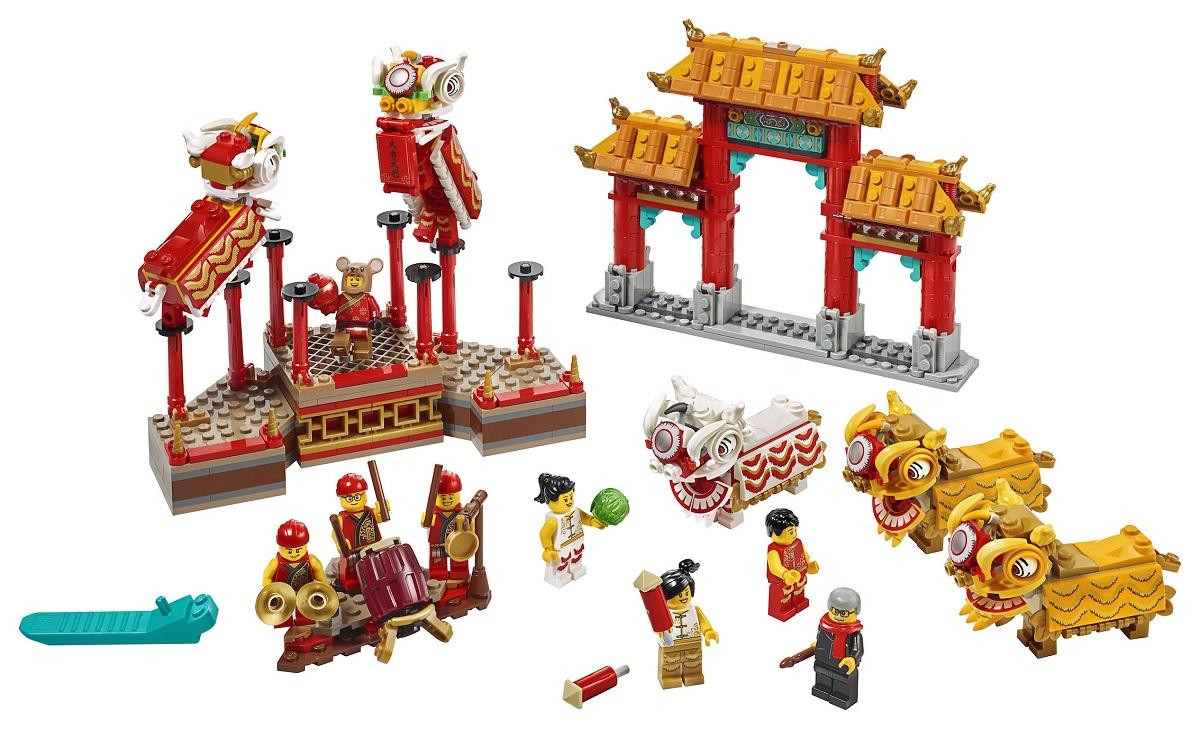 La Danza del León y la Feria del Templo, los dos nuevos sets de LEGO 1