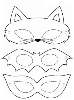 Mascaras Para Halloween Para Imprimir Juguetes