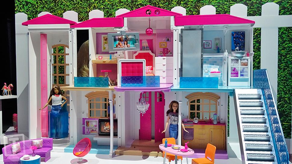 muñeca Barbie - nueva casa inteligentes