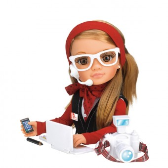 muñeca nancy periodista