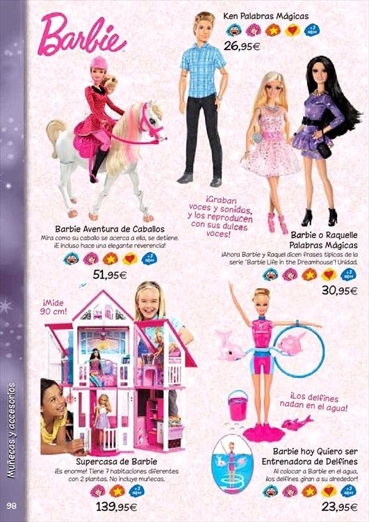 Mu ecas barbie en el corte ingl s juguetes - Supercasa de barbie el corte ingles ...