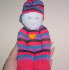 muñeco-calcetines-reciclados