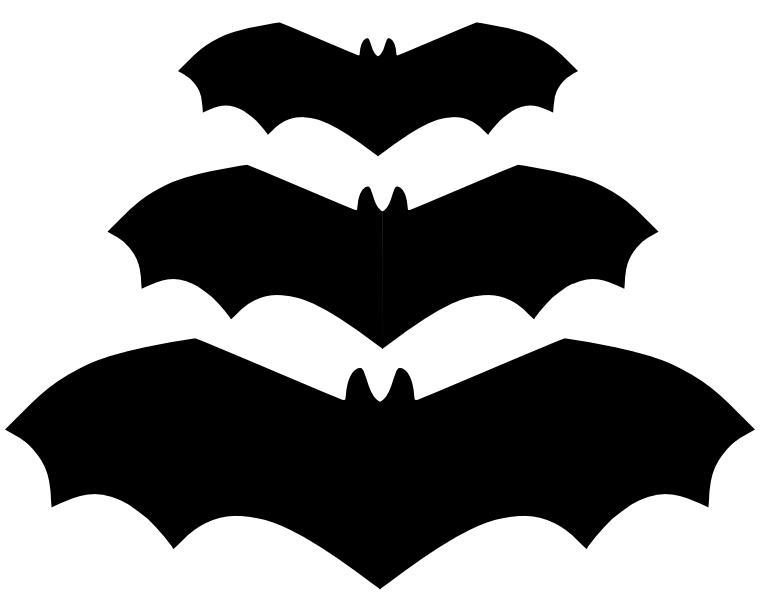 Dibujos de murcielagos de halloween imagui - Murcielagos para halloween ...