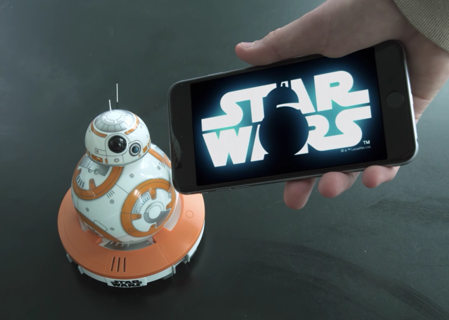 nuevos juguetes de Star Wars bb8
