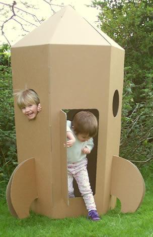 Juguetes de cartón. Juegos. Reducir, reciclar, reutilizar. Reinventar y relajar. Paperpod4