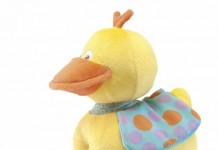 patito musical de peluche