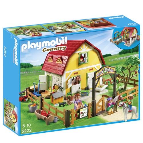 rancho de ponis playmobil