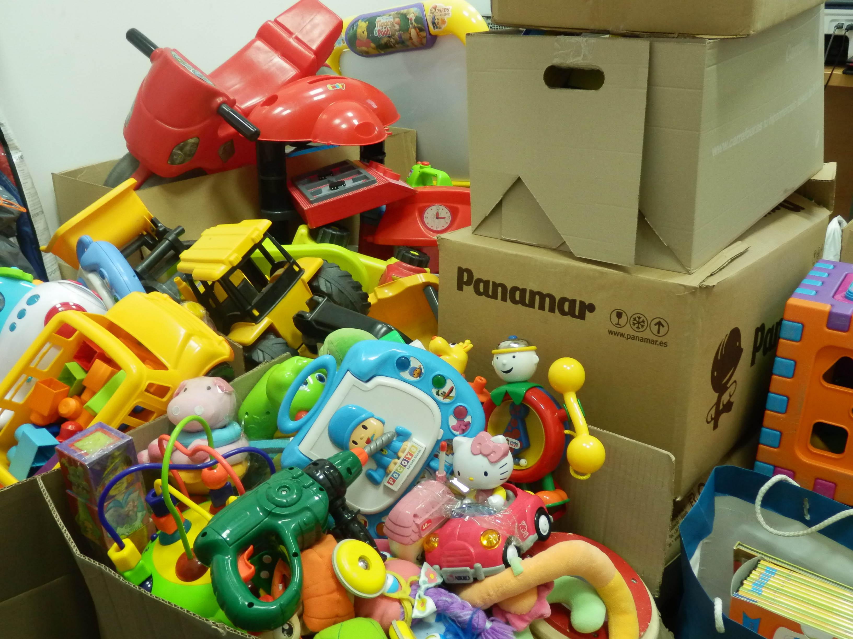 ¿Dónde puedes donar los juguetes usados de tus hijos? 1