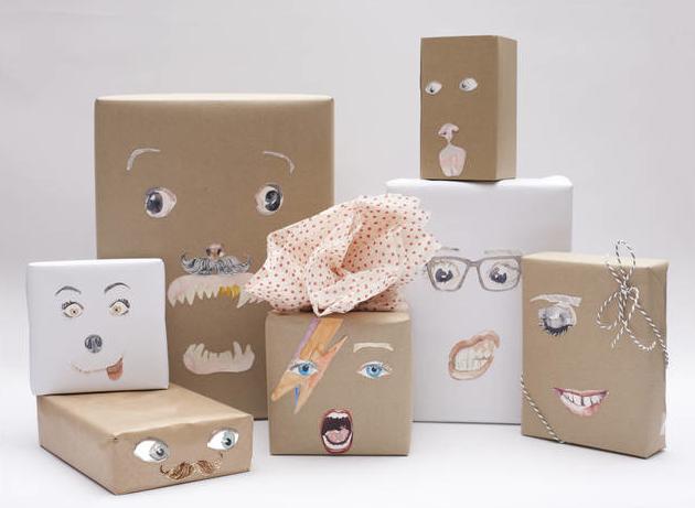 Envolver regalos de forma divertida - Envoltorios originales para regalos ...