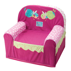 Sill n fairies confort juguetes for Sillon cama plegable goma espuma