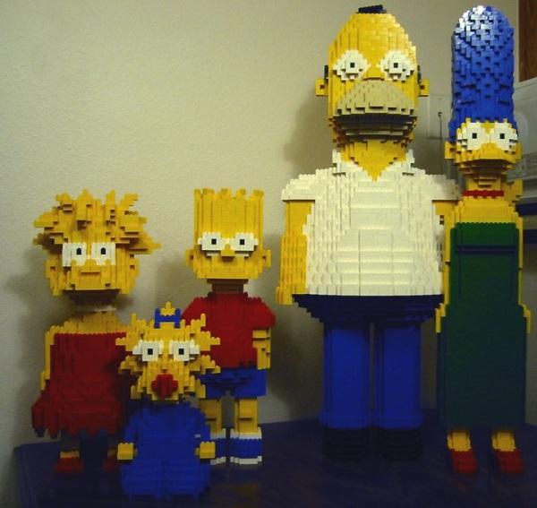 Juguetes Los Con Con Los Lego Lego Simpson Juguetes qVSGpLUzM