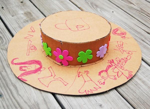 sombrero de cartón