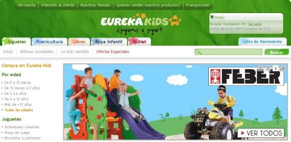 tienda juguetes eurekakids