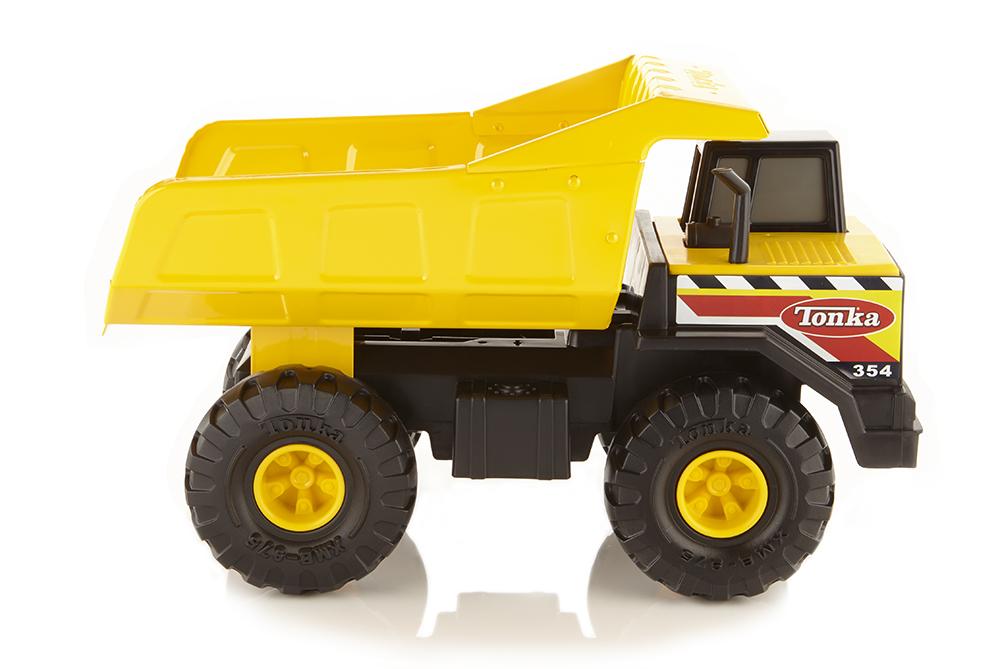 Tonka Steel; camiones de juguete garantizados de por vida 2
