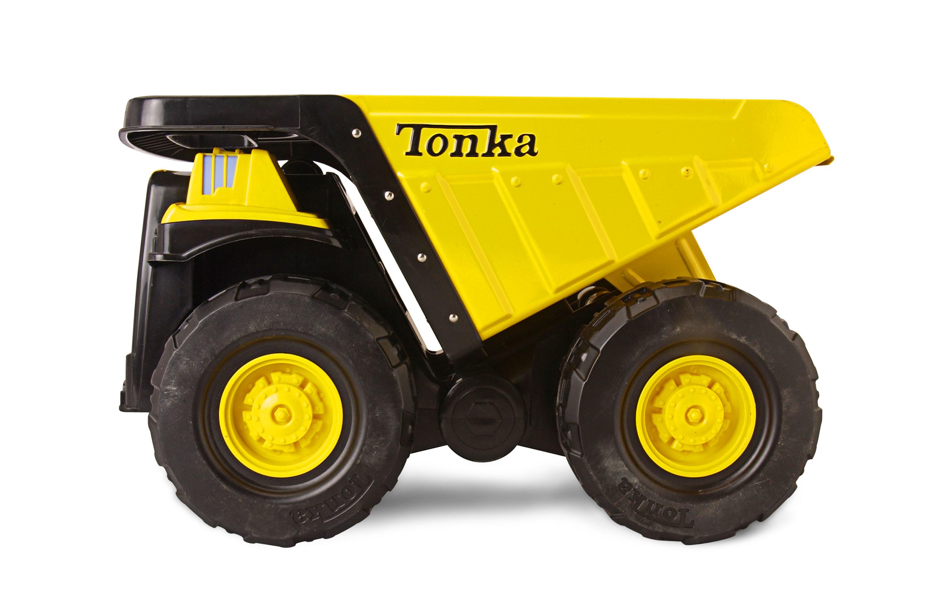 Tonka Steel; camiones de juguete garantizados de por vida 3