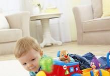tren interactivo para bebés